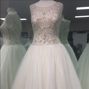 Champagne Wedding Dress 👰🏼 💍
